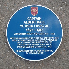 Commemorative Blue Plaque