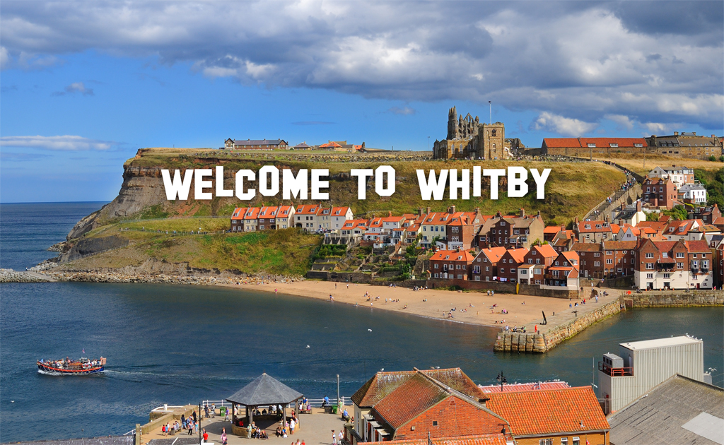 Welcome to Whitby Cliff Top Signage