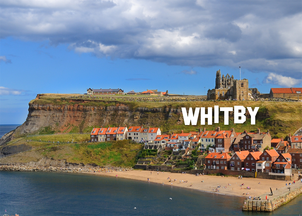 Whitby Cliff Sign