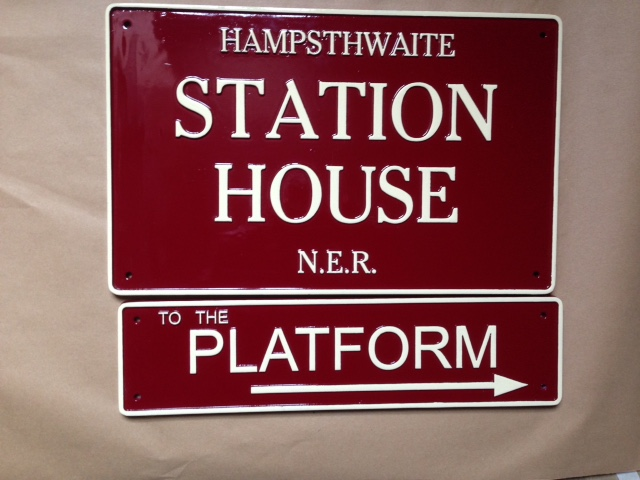 Station House Sign