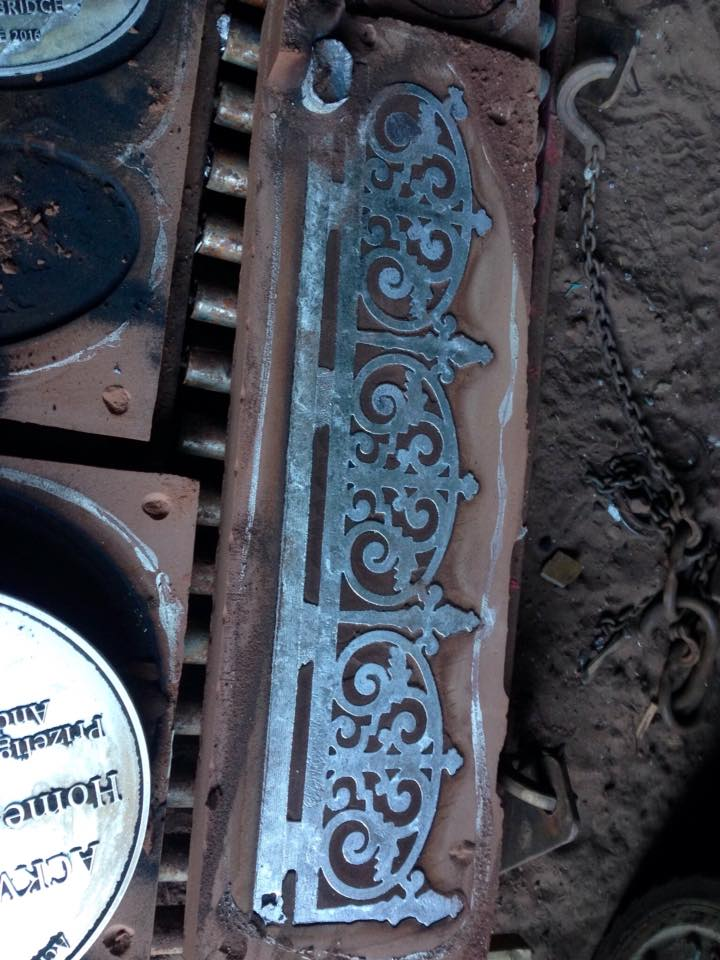 Cast Metal Friezes